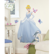 RoomMates Disney Princess - Cinderella Peel & Stick Giant Wall Decal at Kmart.com