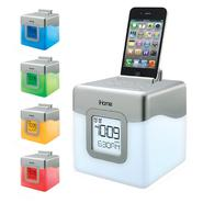 iHOME GlowTunes® Dual Alarm Clock w/ USB Charging iHM28W at Sears.com