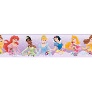 RoomMates Disney Princess - Dream from the Heart Purple Peel & Stick Border at Kmart.com