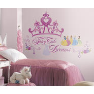 RoomMates Disney Princess - Crown Peel & Stick Giant Wall Decal at Kmart.com