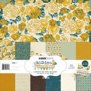 Hidden Treasures Paper Pack 6 Double Sided Designs/2 Each + Stickers at Sears.com