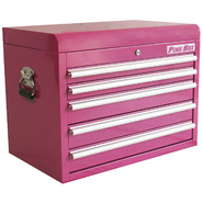 "The Original Pink Box 26"" 5 Drawer 18G Steel Top Chest, Pink at Kmart.com"