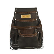 Craftsman 10 Pocket Oil Tanned Leather Pouch at Sears.com