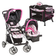 Disney's Minnie Mouse Care Center Play Yard, Sport Stroller & Car Seat Bundle at Kmart.com