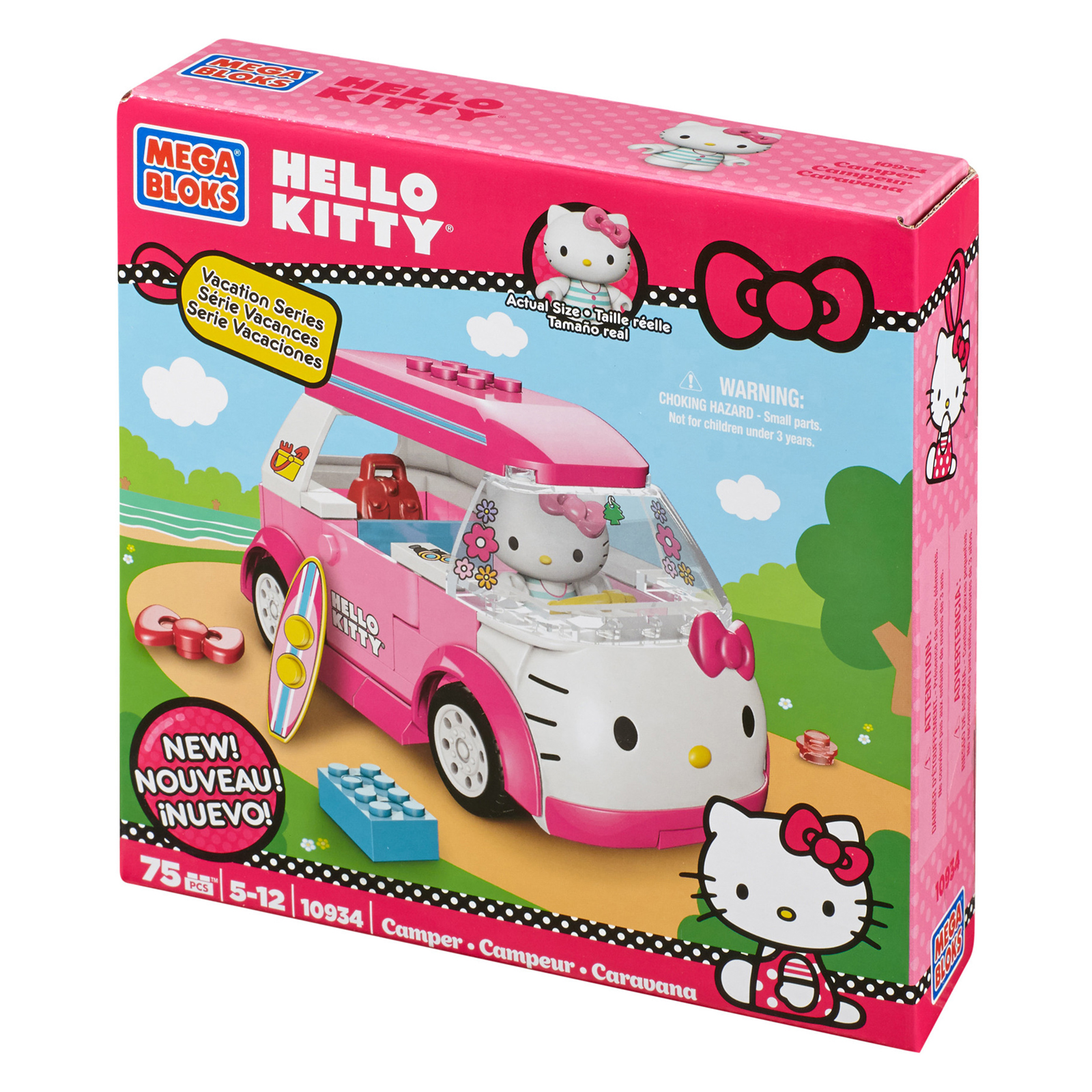 Toys For Hello Kitty : Mega bloks hello kitty camper play set toys