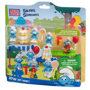 Mega Bloks Smurf Smurf's Celebration Play Set (#10767) at Kmart.com