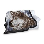 Shavel Oversize Luxury Hi Pile Throw-Snow Wolf at Kmart.com
