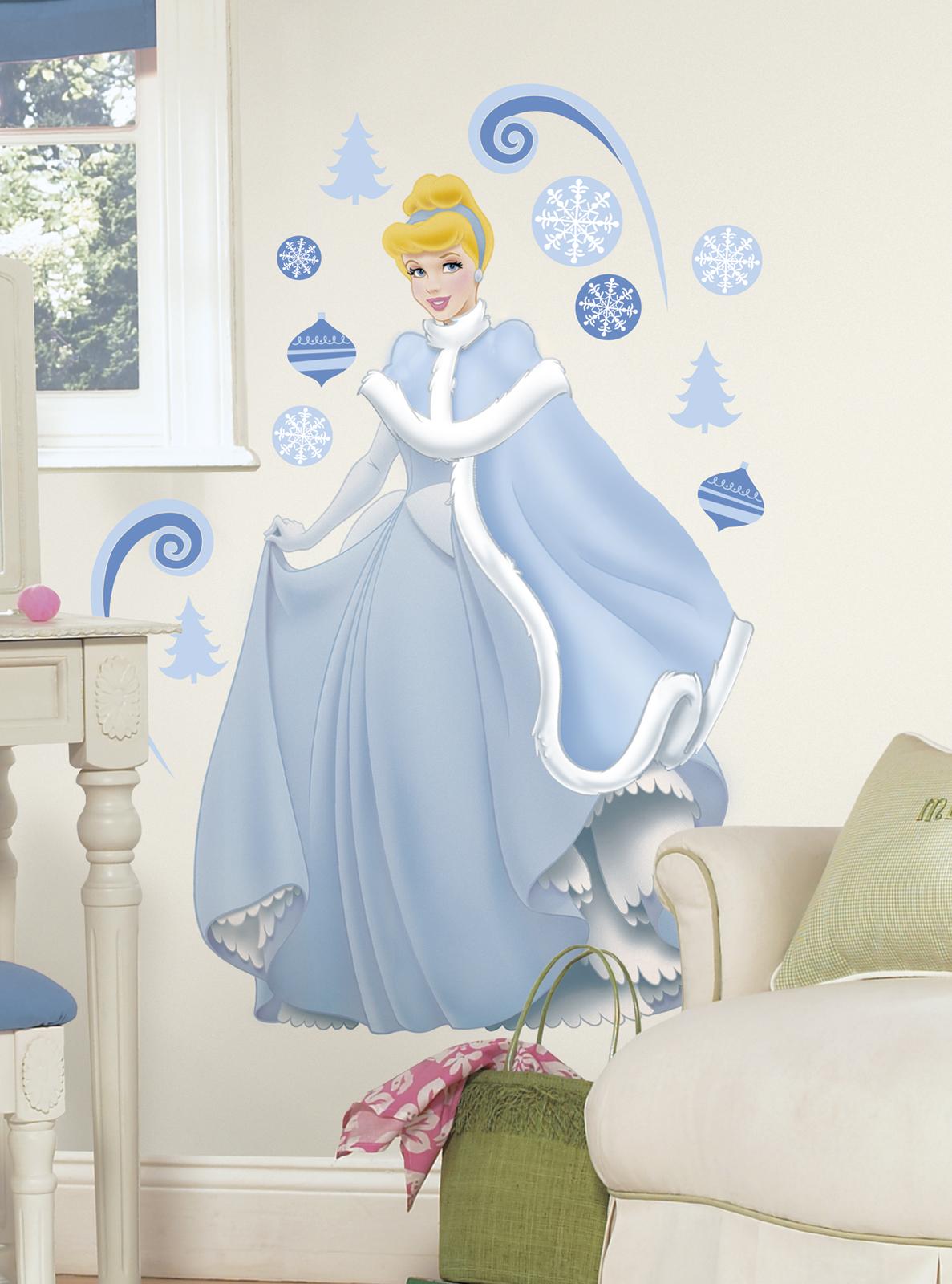 RoomMates Disney Princess - Cinderella Holiday Add On