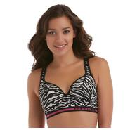 Joe Boxer Women's Zebra Microfiber Sports Bra at Sears.com