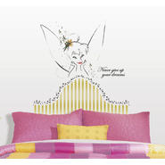 RoomMates Disney Fairies - Tinkerbell Headboard Peel & Stick Giant Wall Decal at Kmart.com