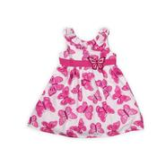 WonderKids Infant & Toddler Girl's Girl's Sleeveless Dress  - Butterflies at Kmart.com