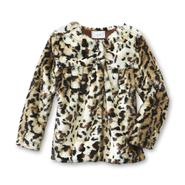 Piper Baby Infant & Toddler Girl's Faux Fur Jacket - Leopard at Kmart.com