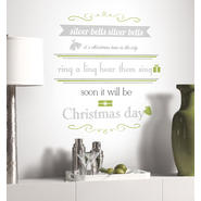 RoomMates Silver Bells Quote Peel & Stick Wall Decals at Kmart.com