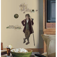 RoomMates The Hobbit - Bilbo Baggins Giant Peel & Stick Wall Decals at Kmart.com