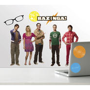 RoomMates Big Bang Theory Peel & Stick Wall Decals at Kmart.com