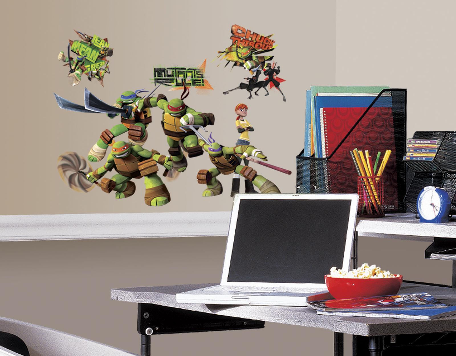RoomMates Teenage Mutant Ninja Turtles Peel & Stick Wall Decals