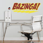 RoomMates Big Bang Theory BAZINGA Peel & Stick Giant Wall Decal at Kmart.com