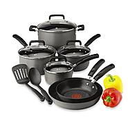 T-fal Signature 12 pc Hard Anodized Cookware Set at Kmart.com