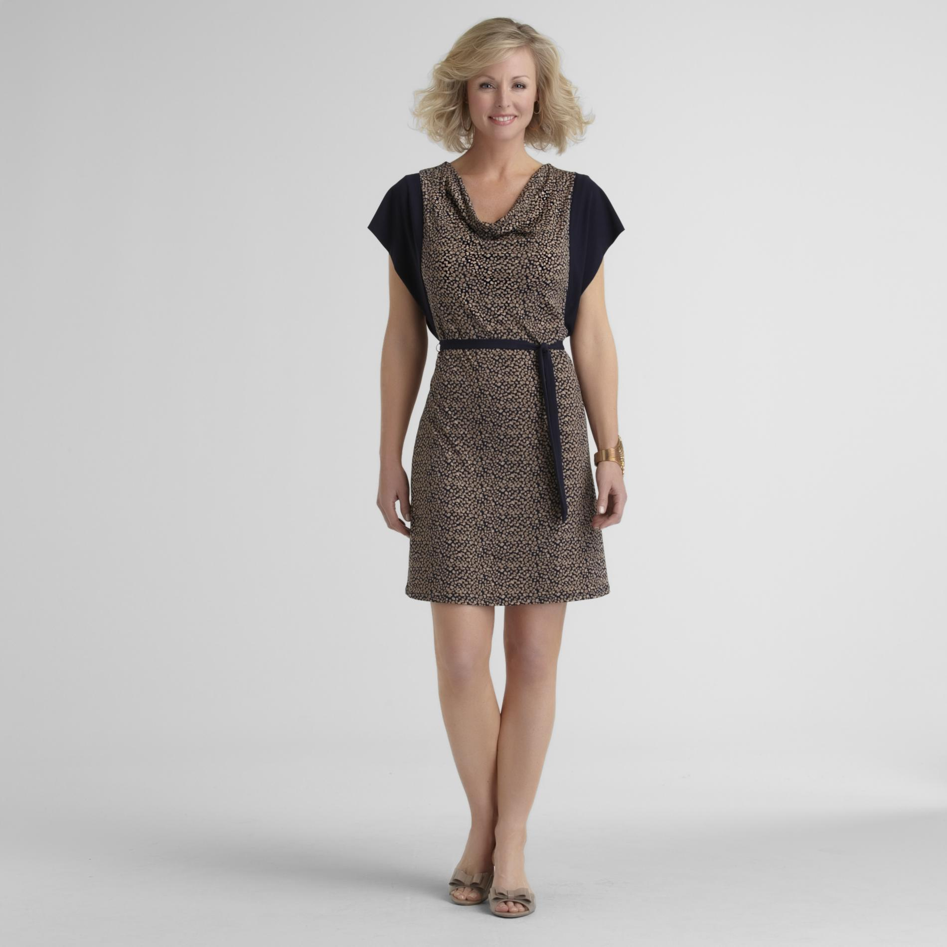 Jaclyn Smith Women's Knit Dress - Confetti Print at Kmart.com