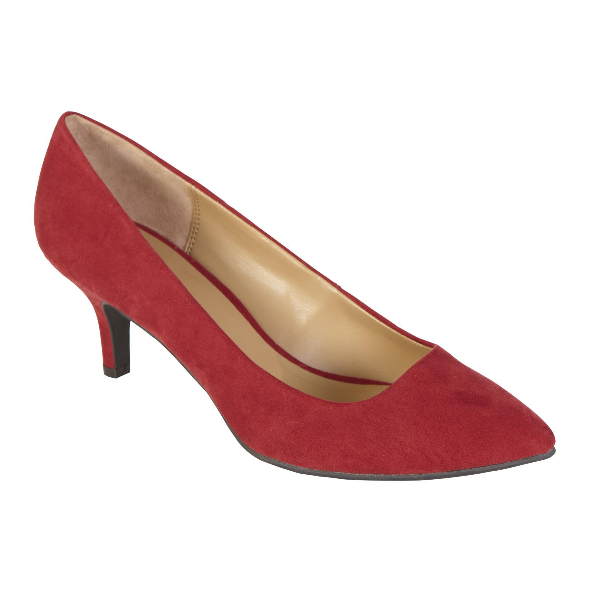 Women's Dress Shoe Zoey - Faux Suede Red