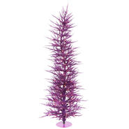 "Vickerman 3' x 17"" Purple Laser Tree 50PU 445T at Kmart.com"