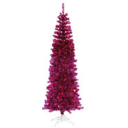 "Vickerman 7.5' x 34"" Fuchsia Pencil 400PU 803T at Kmart.com"