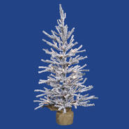 "Vickerman 18"" x 12"" Flocked Angel Pine 142T at Kmart.com"