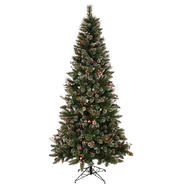 "Vickerman 9' x 51"" SnowTip Berry Tree 650MU at Kmart.com"