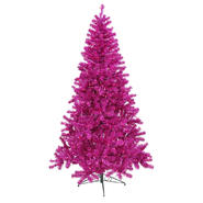 Vickerman 8' x 53 Fuchsia Tree 600Purple Lts 1673T at Kmart.com