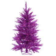 "Vickerman 3' x 29"" Purple Tree 70Purple 232T at Kmart.com"