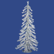 "Vickerman 2' x 23"" Silver Tree 35CL 115T at Kmart.com"
