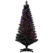 "Vickerman 2' x 15"" Black Fiber Optic Tree 64T at Kmart.com"