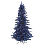 "Vickerman 7.5' x 52"" Navy Blue Fir 750BL 1634T at Kmart.com"