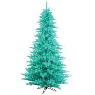 "Vickerman 9' x 64"" Aqua Fir 1000Aqua 2326T at Kmart.com"