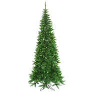 "Vickerman 7.5' x 40"" Tinsel Green Slim 500G 1238T at Kmart.com"
