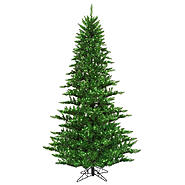 "Vickerman 7.5' x 52"" Tinsel Green Fir 750Gn 1634T at Kmart.com"