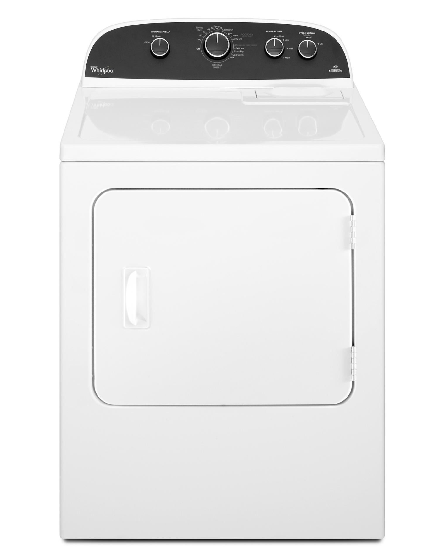 6.4 cu. ft. Flat Back Electric Dryer w/