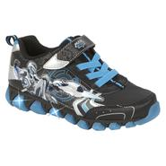 Character Boys' Max Steel Black/Blue Light-Up Sneaker at Kmart.com