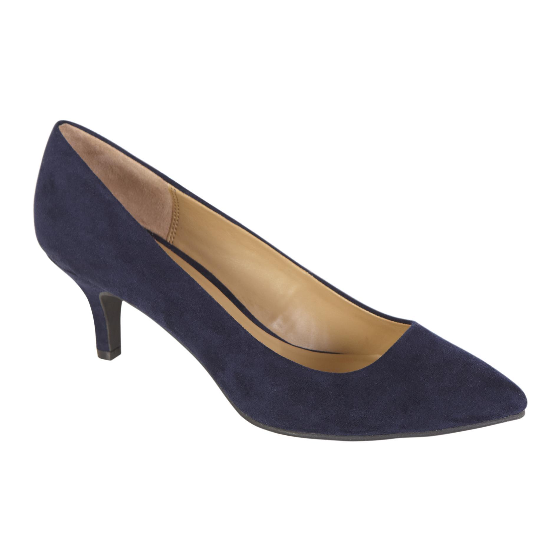 Women's Dress Shoe Zoey - Faux Suede Navy