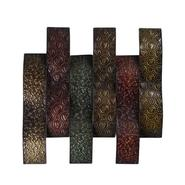 Elements Metal Patchwork Waves 23.5 X 24 at Kmart.com