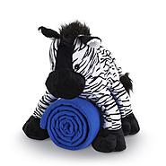 Cuddly Friend Kids' Stuffed Zebra and Throw Set at Kmart.com