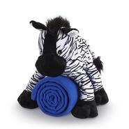 Cuddly Friends Kids' Stuffed Zebra and Throw Set at Kmart.com