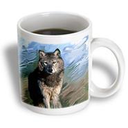 3dRose - Wild animals - Wolf - 15 oz mug at Kmart.com