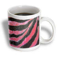 3dRose - Florene Contemporary - Hot Pink Zebras - 15 oz mug at Kmart.com