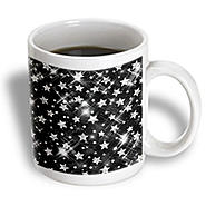 3dRose - Rewards4life Gifts - Glitter Stars Silver - 15 oz mug at Kmart.com