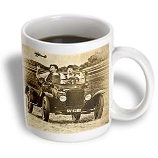 3dRose - Chris Lord Automobilia - Vintage Ford Laurel Hardy Actors - 11 oz mug PartNumber: 011V006387963000P KsnValue: 011V006387963000 MfgPartNumber: mug_55931_1