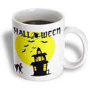 3dRose - Edmond Hogge Jr Halloween - Haunted Halloween House  - 15 oz mug at Kmart.com
