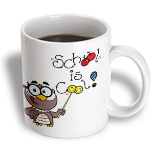 3dRose - Edmond Hogge Jr Sayings - Owl School Lesson - 11 oz mug PartNumber: 011V006388347000P KsnValue: 011V006388347000 MfgPartNumber: mug_58886_1