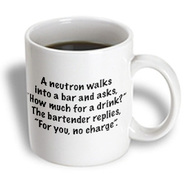3dRose - EvaDane - TV Quotes - Big Bang Theory, A neutron walks into a bar and asks how much for a drink... - 11 oz mug at Kmart.com