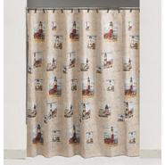 Essential Home Point Bay Lighthouse Fabric Shower Curtain at Kmart.com